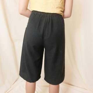 High wasted shorts cullote