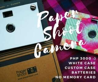 Paper Shoot Camera + Extra DIY White case