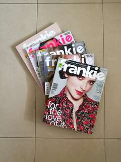 Frankie Magazine issues