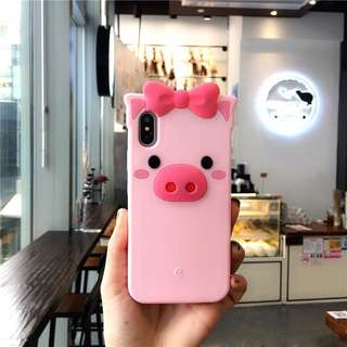 3D Piggy Silicone Case for Iphone 6/6s