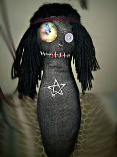 Nocturnal Wiccan Spirit Voodoo dolls