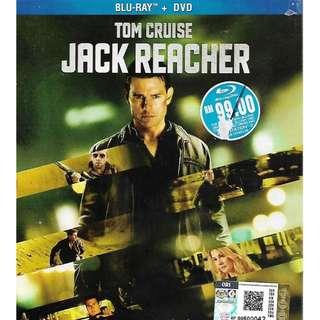 Tom Cruise Movie Jack Reacher Bluray + DVD New