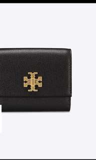 Tory Burch Kira foldable medium wallet 11.5x9.5cm