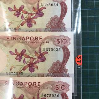 UNC 3 Run Orchid$10