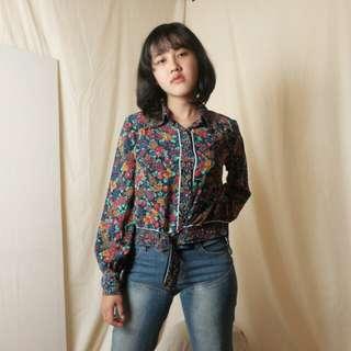 Flowery Vintage Shirt