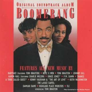 CD USA Various – Boomerang Original Soundtrack Album MOVIE OST