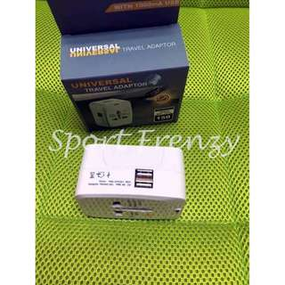 Universal Travel Adapter (Dual-USB)