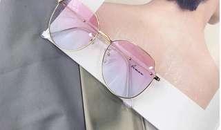 Fashion glasses pink
