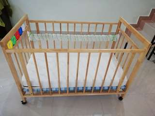 Baby Cot with or without mattress