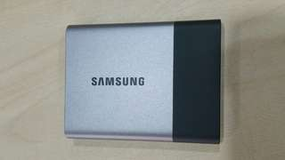 Samsung T3 Portable SSD Hard Drive Flash Disk 500GB or  0.5TB - USB 3.1 Capacity: 500GB