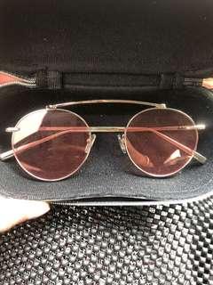 Sale retro pink sunglasses