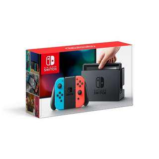 (NEW - EXPLOITABLE w/ FW 3.0.0) Nintendo Switch Console