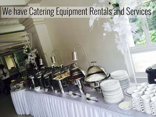 CATERING RENTALS AND SERVICES
