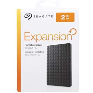 Seagate Expansion 2TB with 1 year international warranty