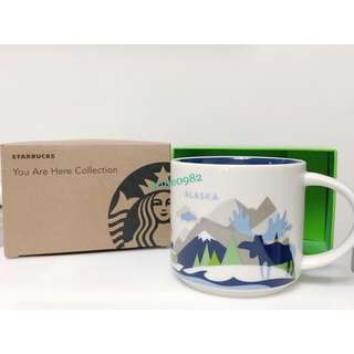 🚚 Starbucks 全新現貨 星巴克 馬克杯 阿拉斯加 城市杯