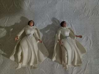 Starwars Princess Leia Organa lady cape white