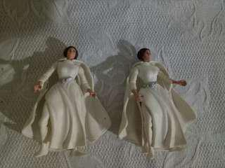 Starwars Princess Leia Organa lady cape white