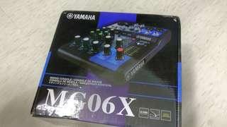 Yamaha Mixing Console MG06X