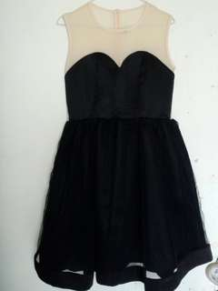 Victoria Beckham Black Party Dress
