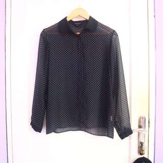 #maudecay - The Executive Polkadot Shirt