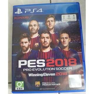 Pro Evolution Soccer 2018 (PES) Used