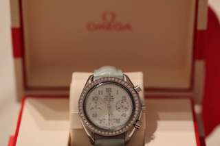 Omega speedmaster diamond watch