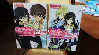 Code Geass Official Comic Anthology for Girls, Togainu no Chi (English Manga)