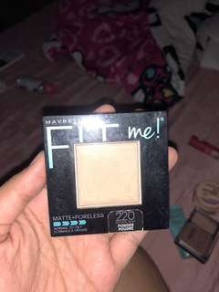 Fit me powder matt shade 220