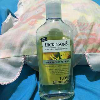 dickinson's witch hazel toner