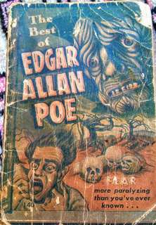 Vintage Book of Edgar Allan Poe's Short Stories(Rare Book)