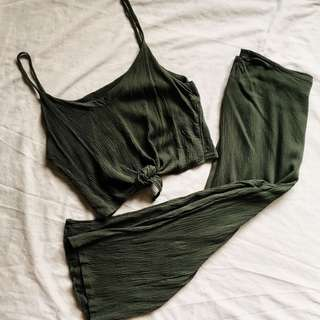Hanna Pair Olive Green