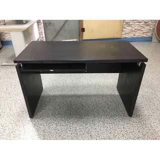 香榭二手家具*胡桃4x2尺木製電腦桌-辦公桌-業務桌-會議桌-會計桌-工作桌-鐵桌-事務桌-洽談桌-OA桌-書桌-2手貨