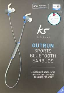 KS Kitsound Sports Bluetooth Earbuds 運動藍芽耳機