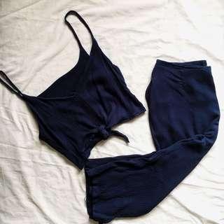 Hanna Pair Navy Blue