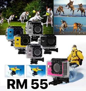Action Cam Full HD 1080