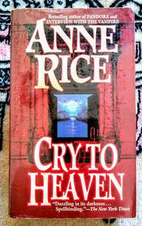 Anne Rice 'Cry to Heaven'