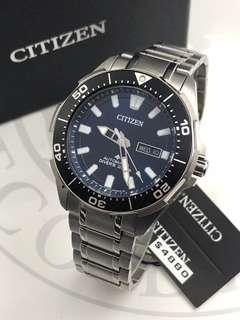 代購 CITIZEN 鈦金屬自動機械男裝腕錶