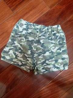 🚚 韓製迷彩短褲