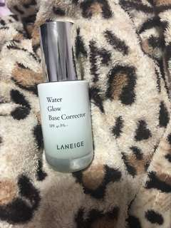 BN Laneige water glow base corrector in green
