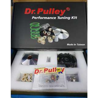 DR Pulley Performance Tuning kit includes clutch / variator / rollers for Vespa LX-3V, Sprint-3V and Primavera-3V and 946.