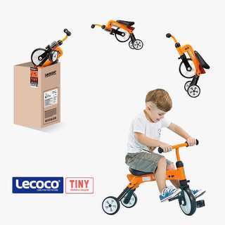 🆕Lecoco Foldable 3 Wheels Children Tricycle