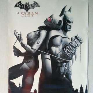 Batman Arkham City A2 Size Poster