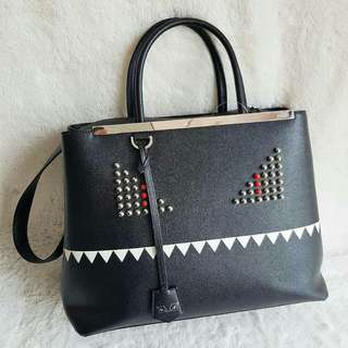 Fendi 2Jours Monster 2way-bag