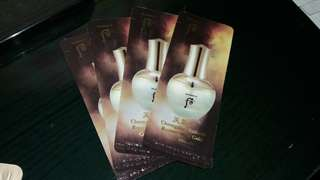 The history of whoo regenerating gold concentrate 4 sachet