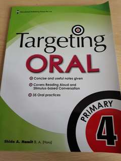 Targeting Oral Assesment Book for P4
