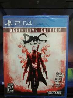 PS4 Games - Devil May Cry