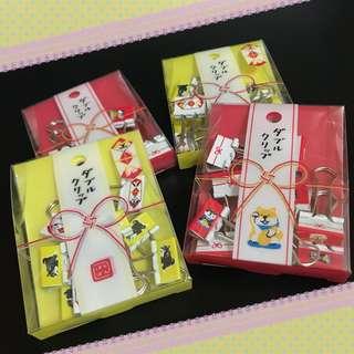 日本柴犬文件鐵夾