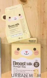 Dr. Mama's breastmilk storage bag