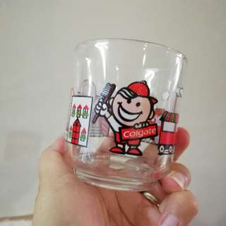 Vintage Darlie Glass