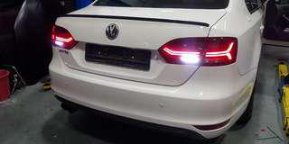 Volkswagen Jetta MK6 LED Tail Lamp with Sequential Lighting